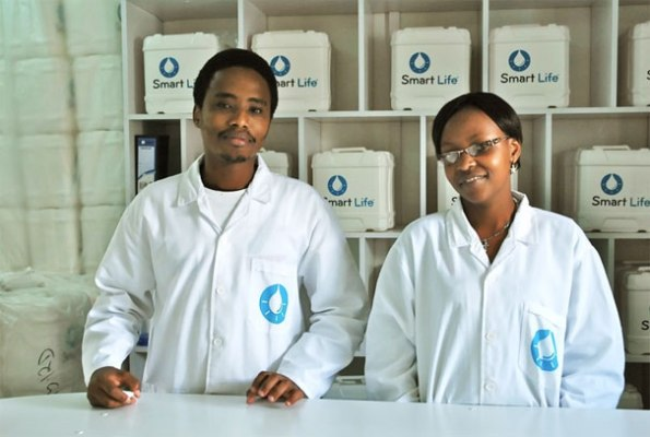 SmartLife - a new venture to sell affordable drinking water in Kenya